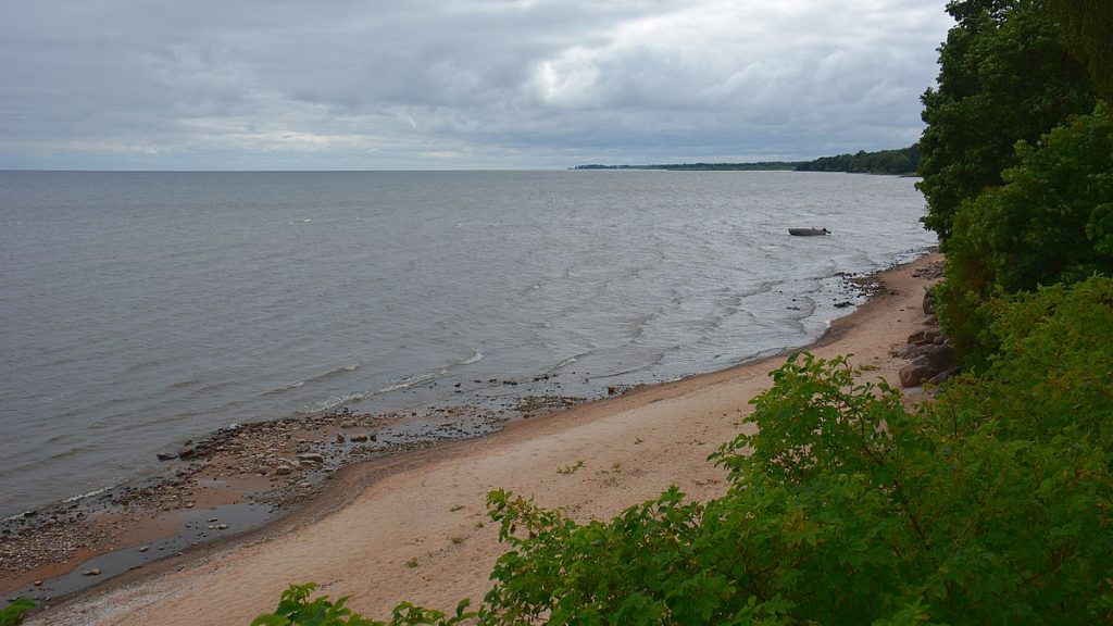 Stranden vid Kallaste