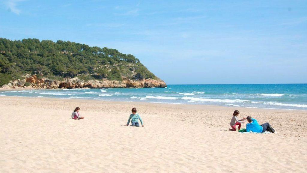 strand i Spanien
