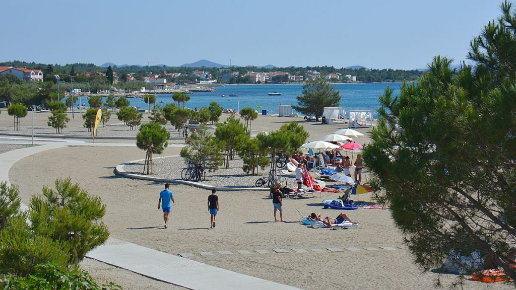 Stranden på Zaton Holiday resort
