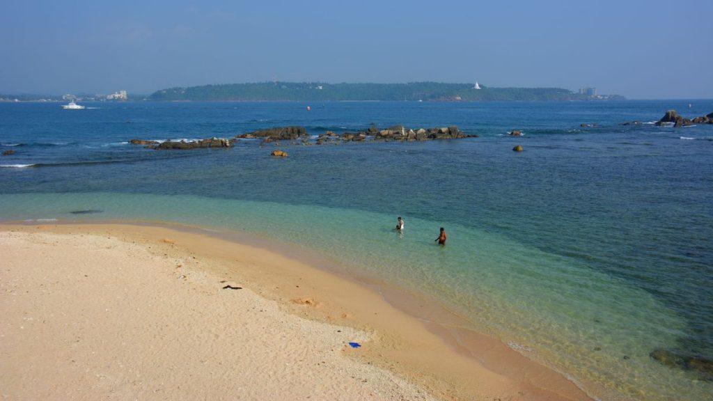Strand i Galle