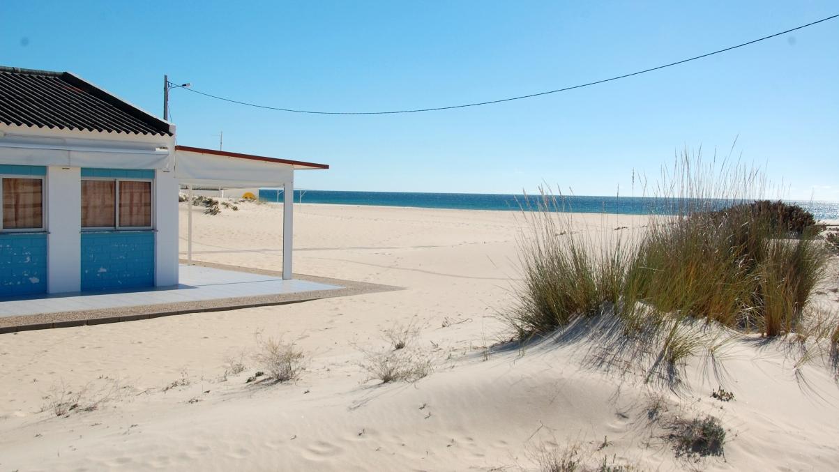 Strand i Portugal