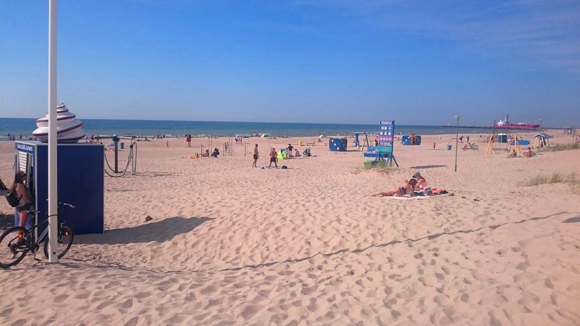 Strand i Ventspils