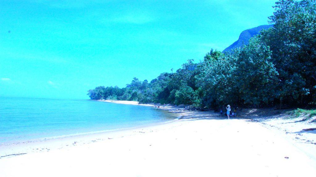 Strand norra Langkawi