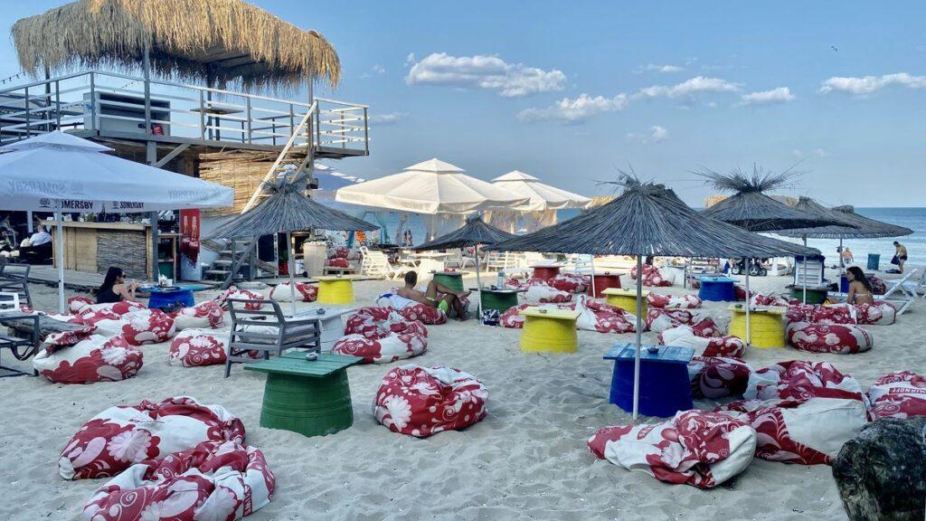 Göra i Varna i Bulgarien - Beach club