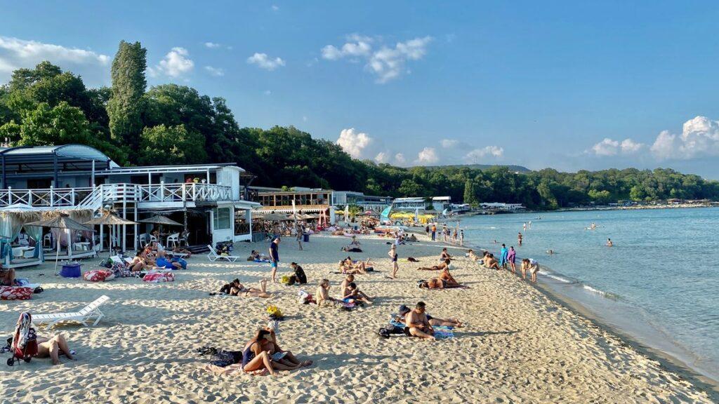Göra i Varna i Bulgarien - sola och bada