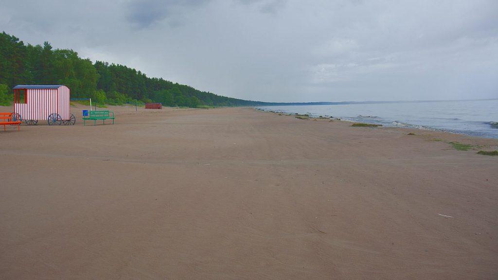 Stranden i Narva