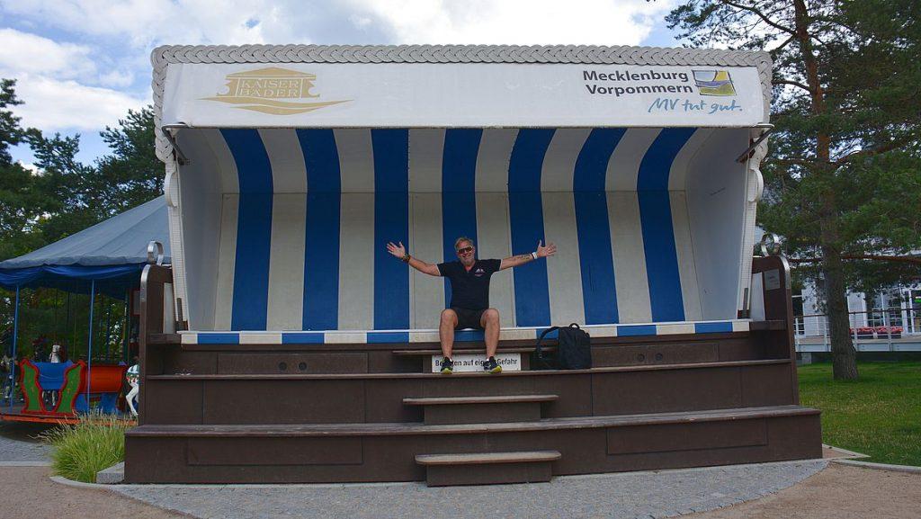 Strandkorb i Usedom