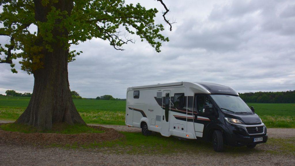 Med husbil i Schleswig Holstein - Swift Toscane