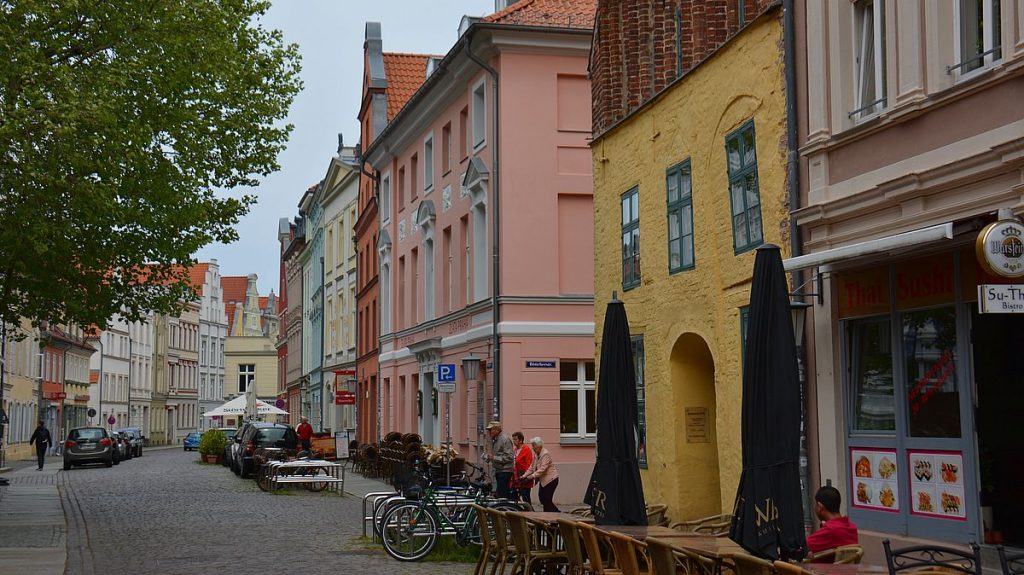 Stralsund i Tyskland