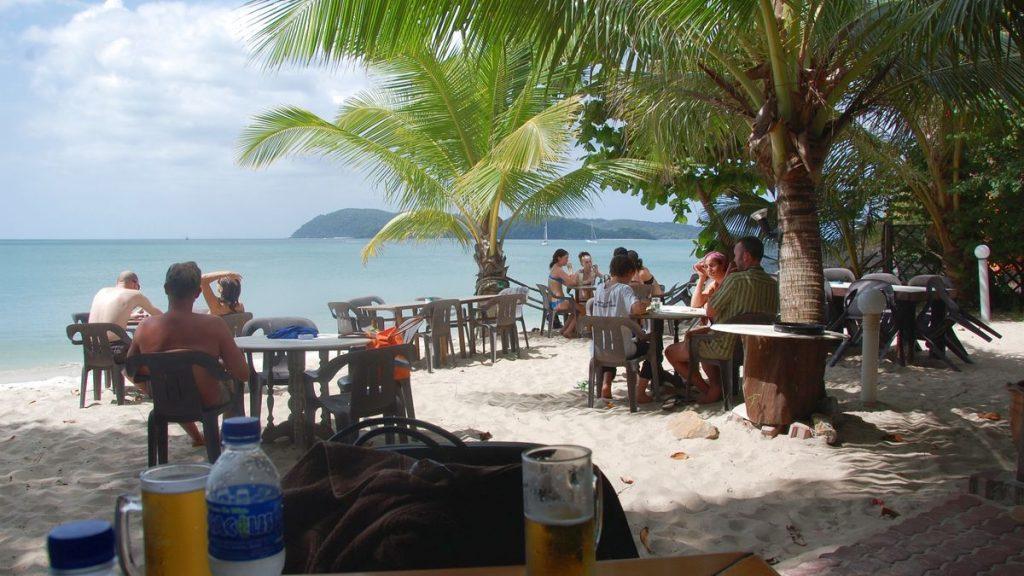 Strandrestaurang Langkawi