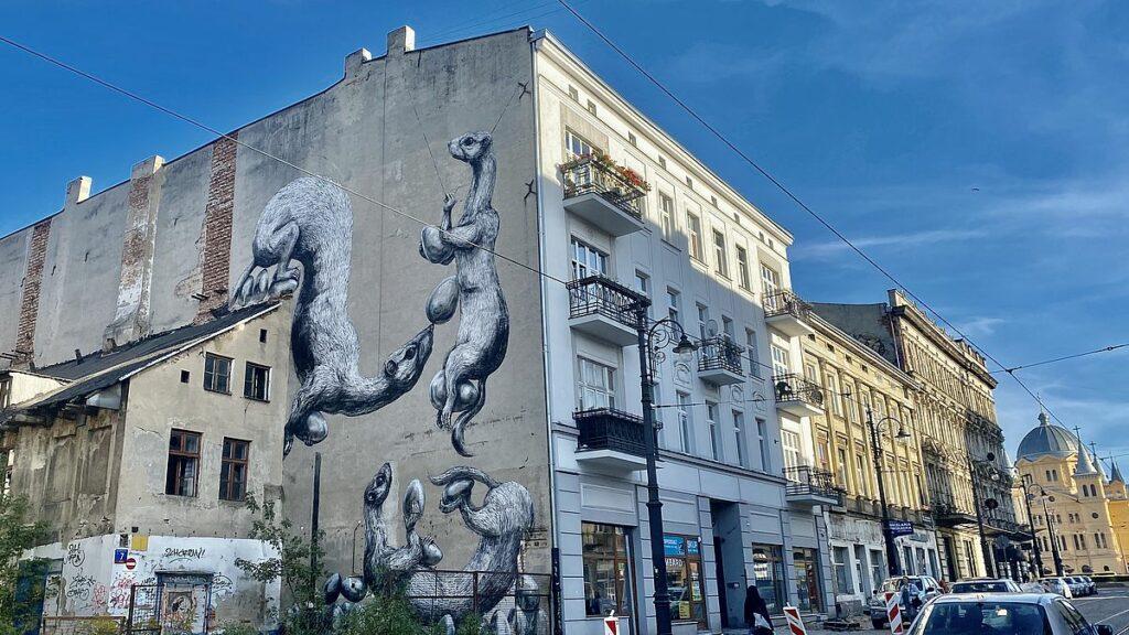 Street art i Łódź