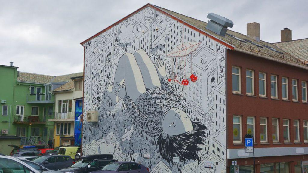 Mera street art i Bodö