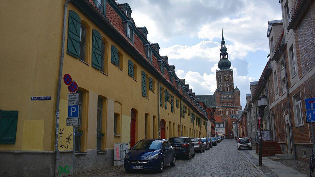 Kyrka i Greifswald