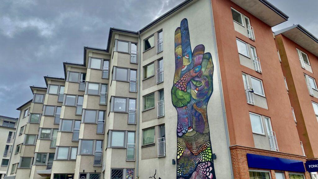 Göra i Halmstad - street art