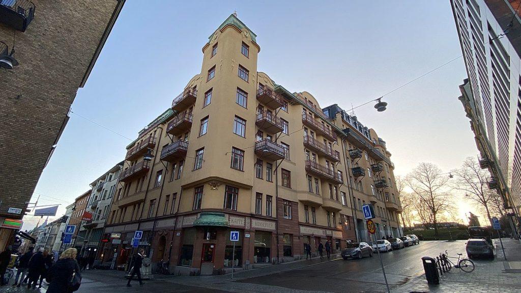 Blå Tornet - Strindbergs hem