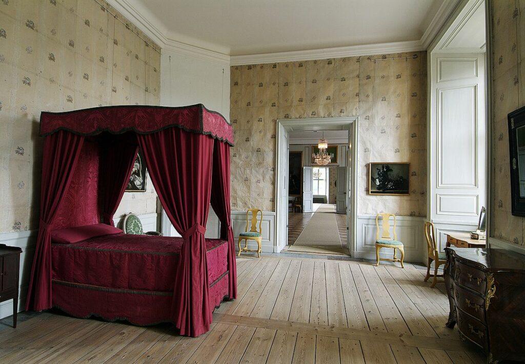 Kronprinsens sängkammare Strömsholms slott
