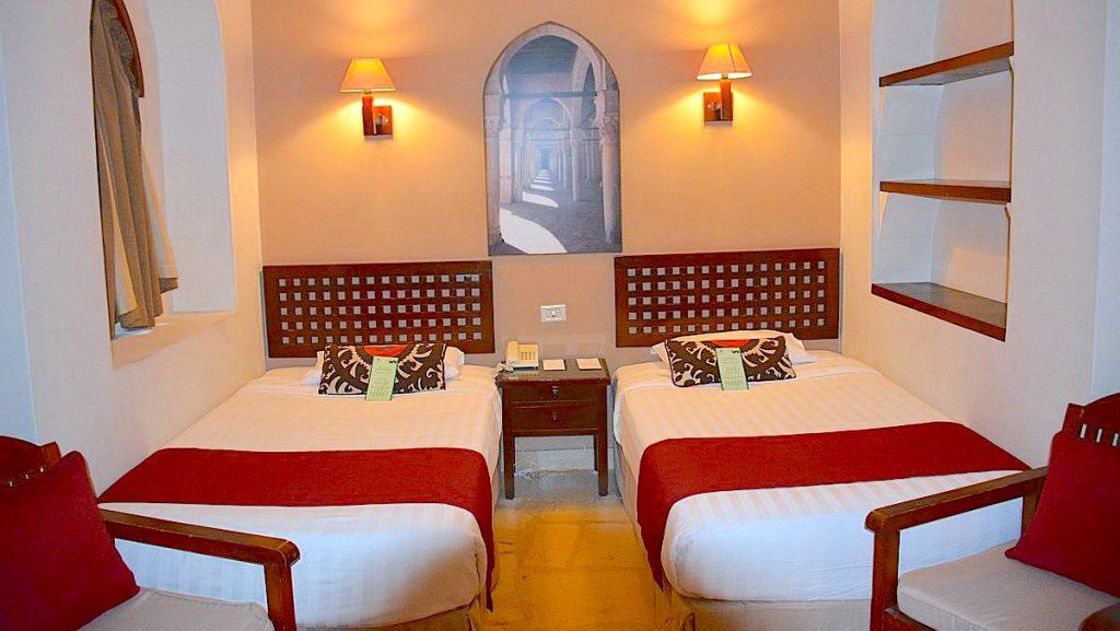 Vårt rum på Sultan Bay i El Guona