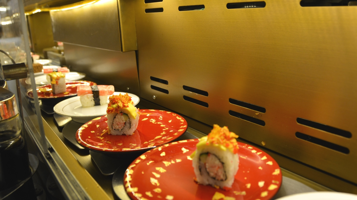 Sushi rullband