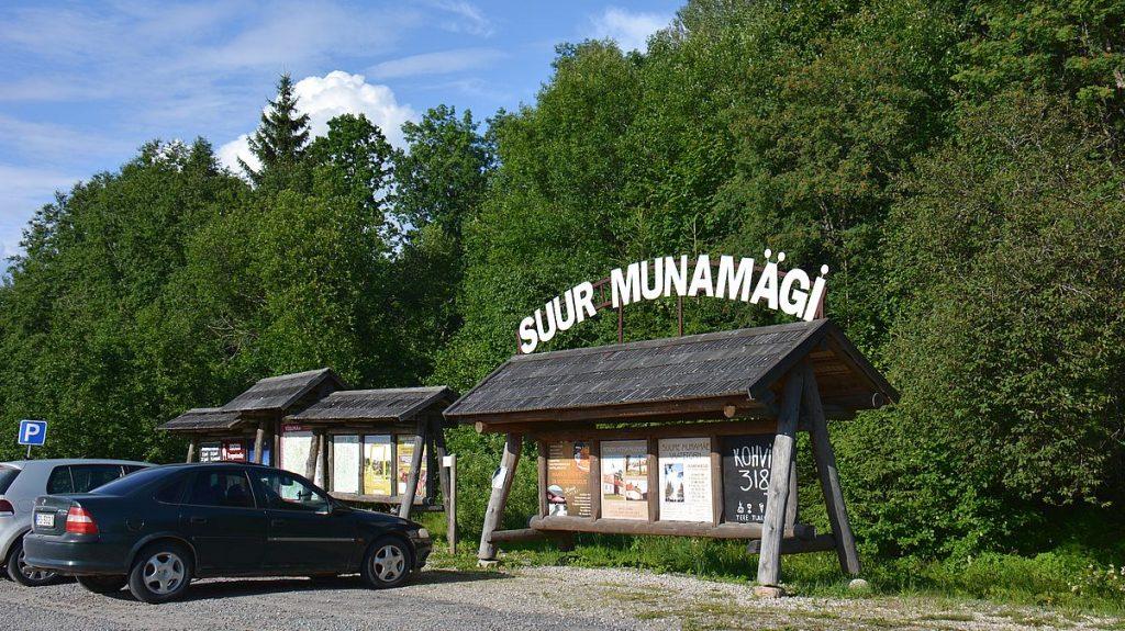 Baltikums högsta berg - suur Munamägi i Estland