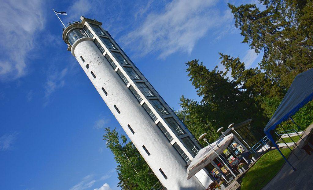 Tornet vid Baltikums högst berg
