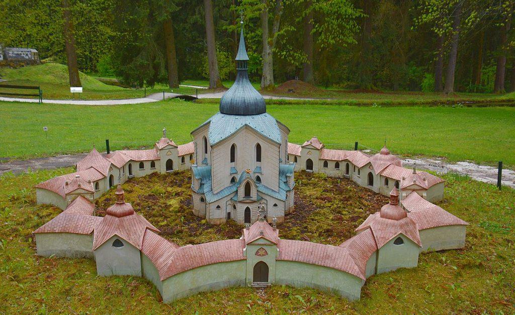 Unesco världsarv i Tjeckien - Johannes Nepomuks kyrka