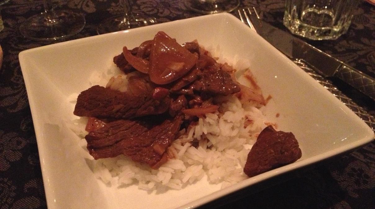 Sydamerikansk köttgryta