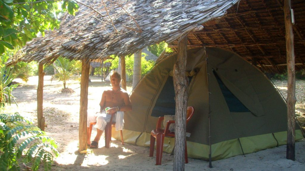 Tält i Tanzania