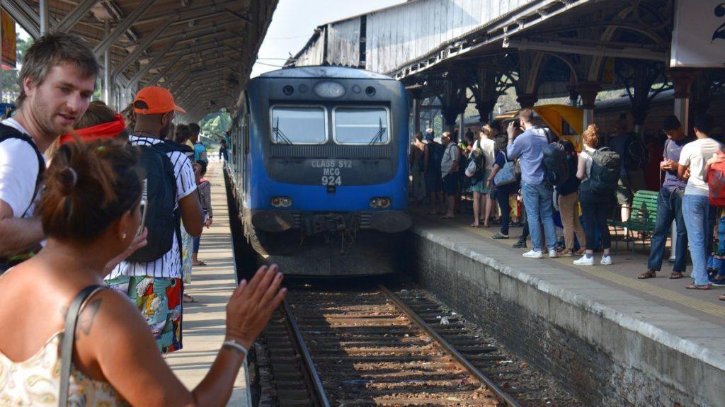 Tåg från Kandy till Ella