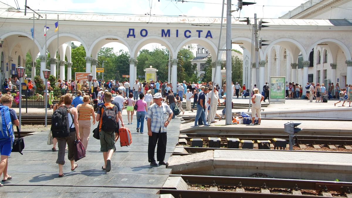 Tåg Simferopol