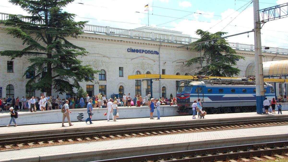 Tåg Ukraina