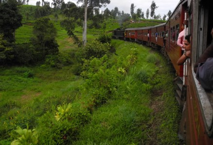 Tågresa i höglandet