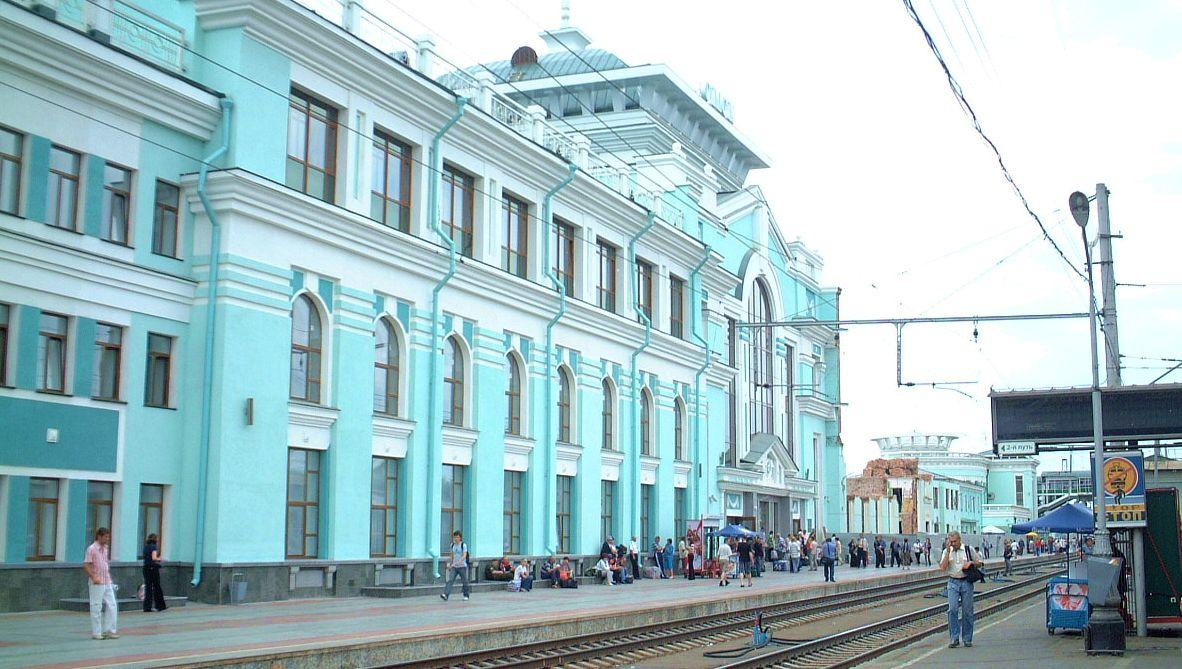 Tågstation Irkutsk