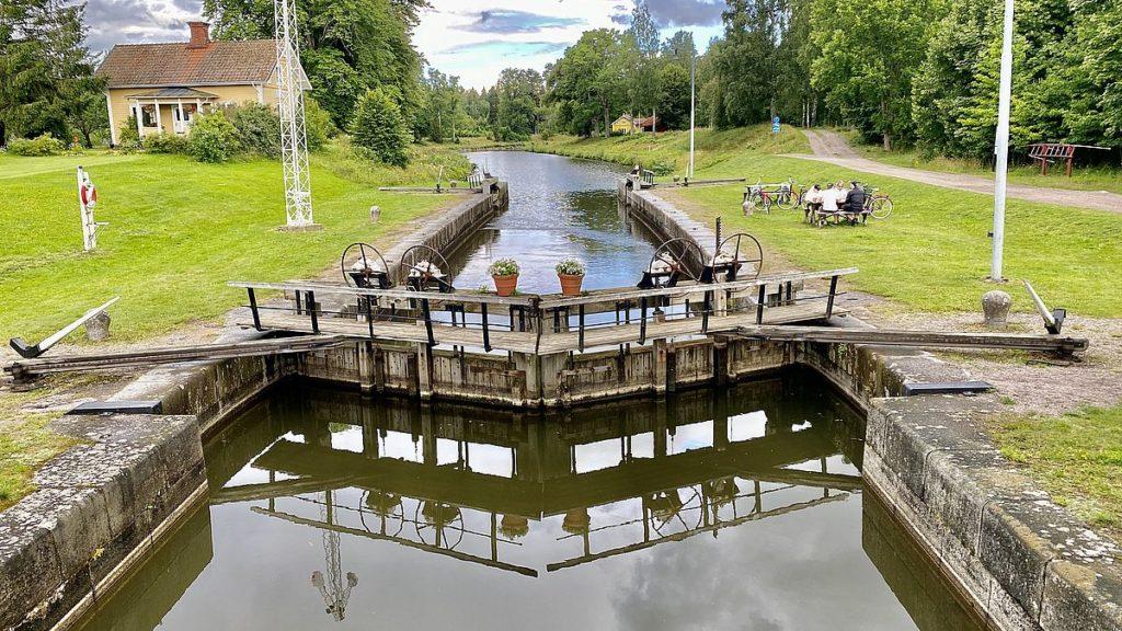 Slussen i Tåtorp