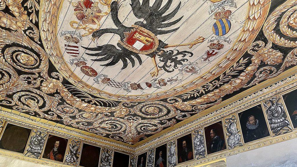 paradvåningen på Läckö slott