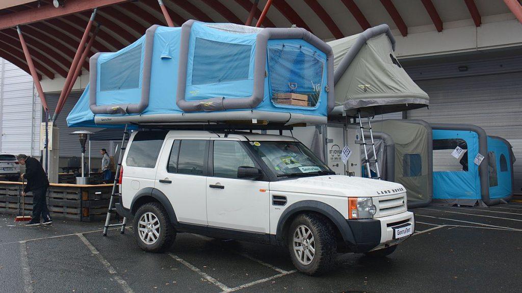 Taktält på Elmia husvagn husbil 2019