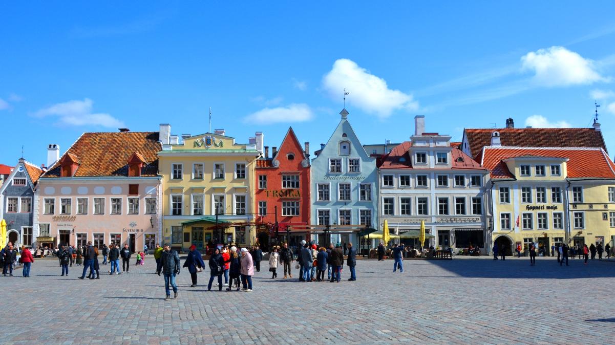 Guidad tur i Tallinn - semester i östeuropa