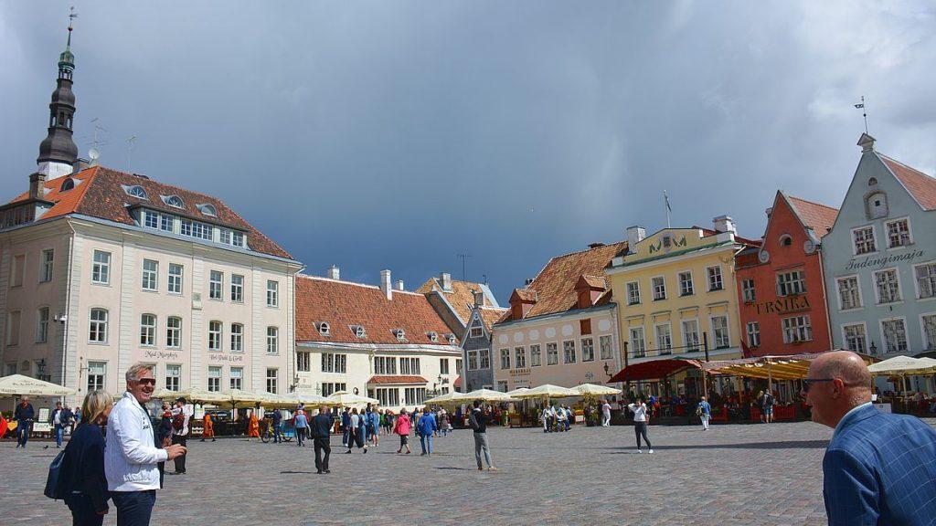 Rådhustorget i Tallinn