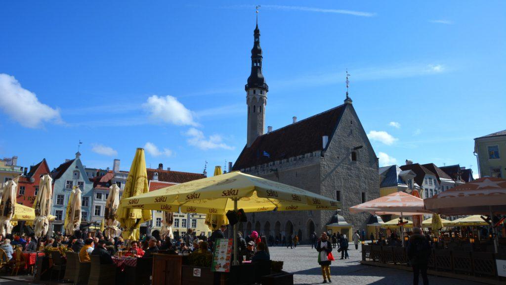 Tallinn rådhustorget - se och göra i Tallinn