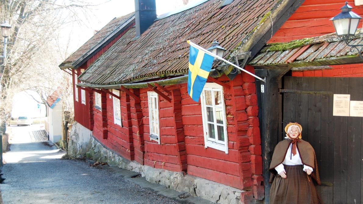 Tant bruns café i Sigtuna, Sveriges äldsta stad