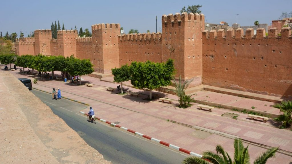 Taroudant mur - Lilla Marrakech