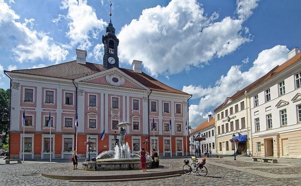 Tartu i Estland