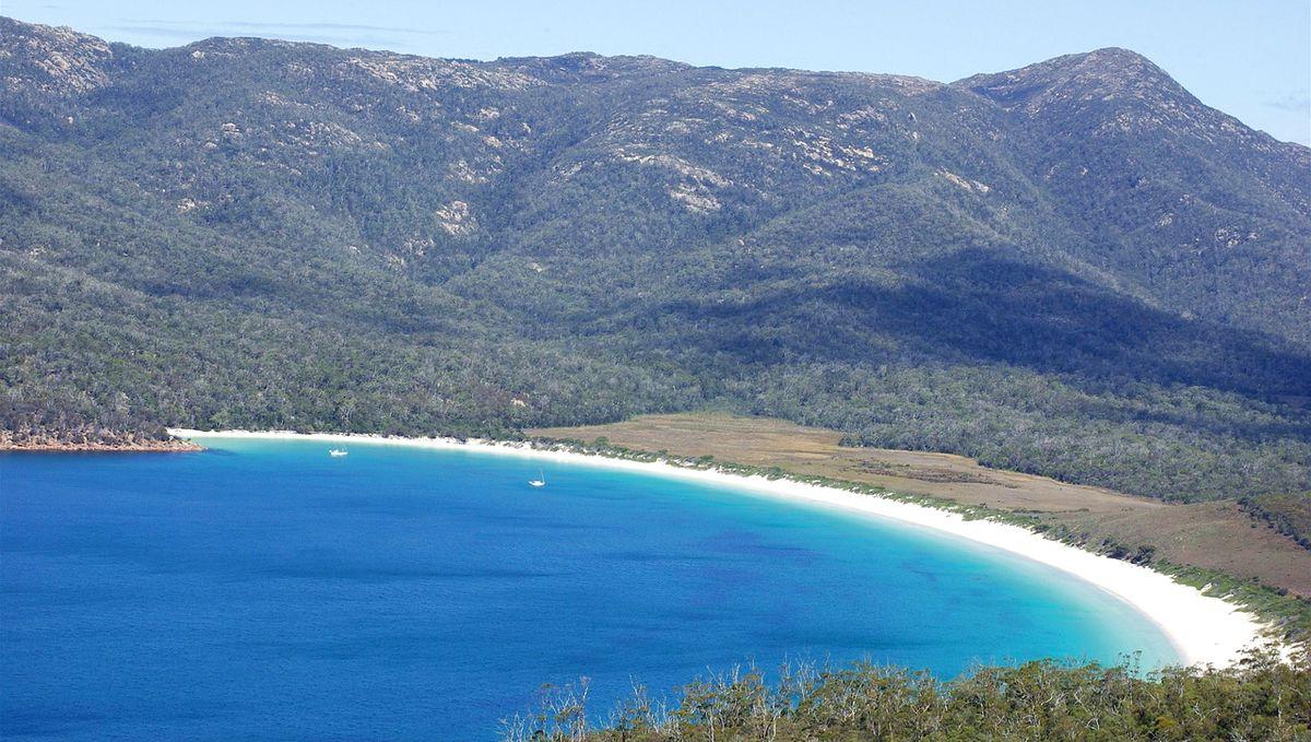 Tasmanien Wine glass bay