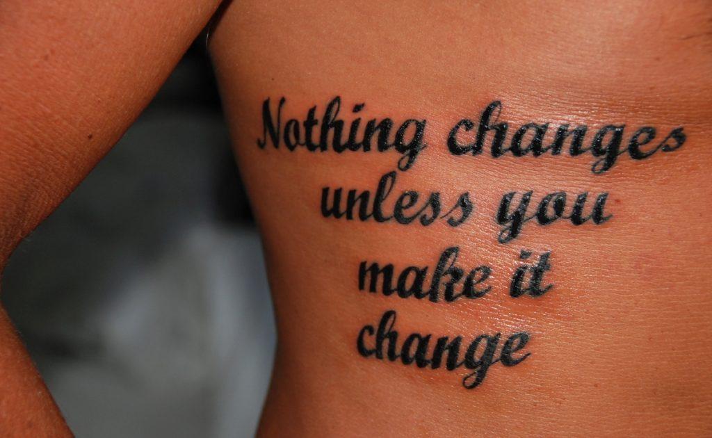 Tatuering överkropp