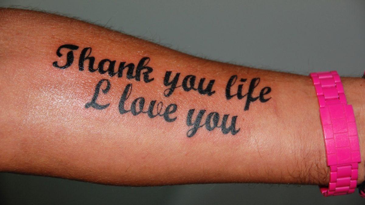 Tatuering arm