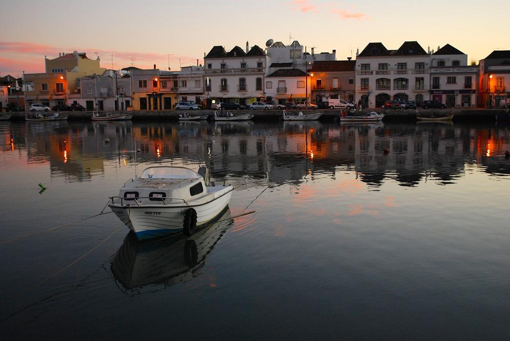 Tavira i Portugal, fint för övervintrare med husbil. Foto: Lasse Persson.
