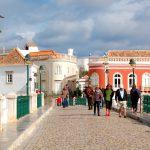 Tavira, Portugal, den charmiga staden
