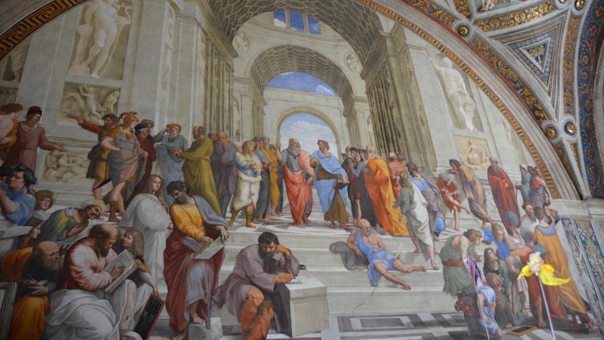 Tavla Vatikanstaten i världens minsta land