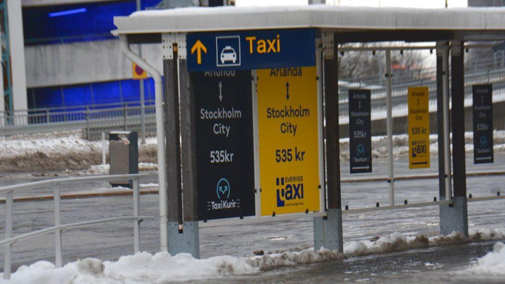 Taxi till Arlanda