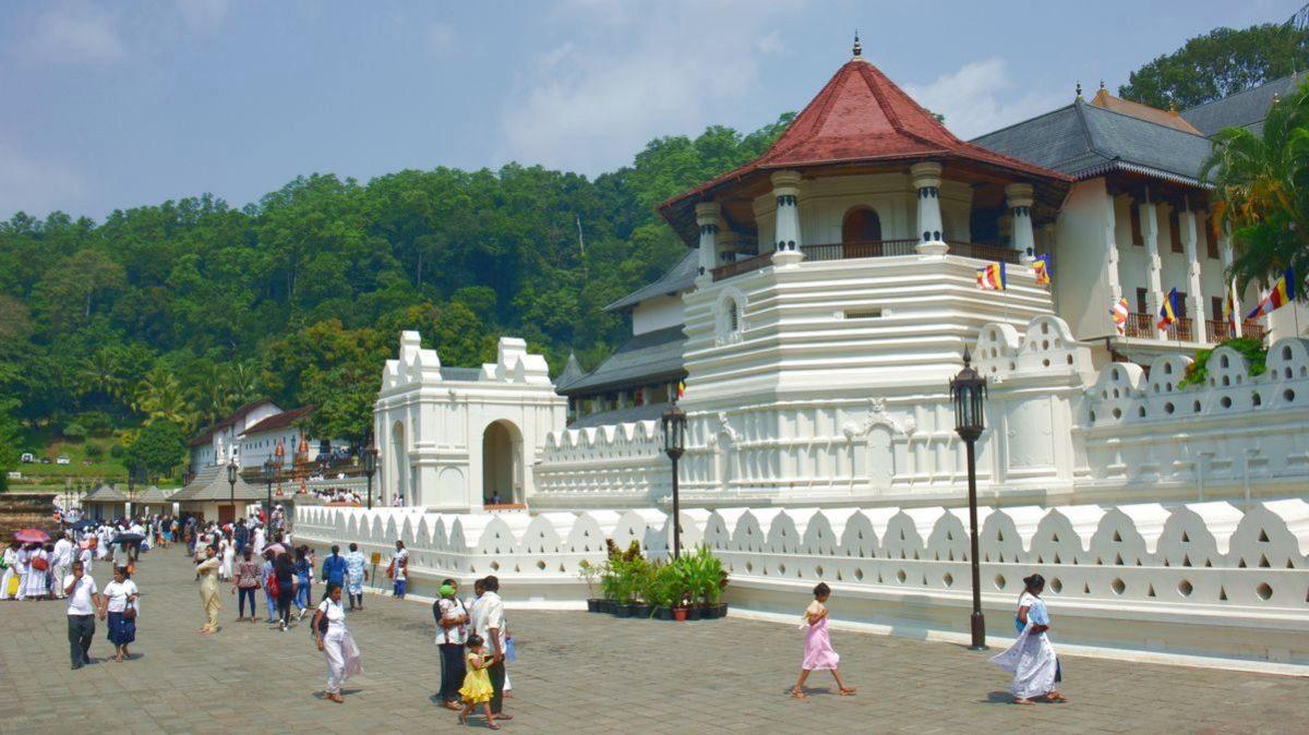 Tempel i Kandy