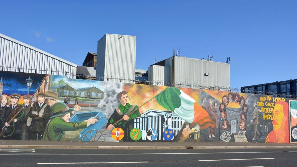The troubles Belfast